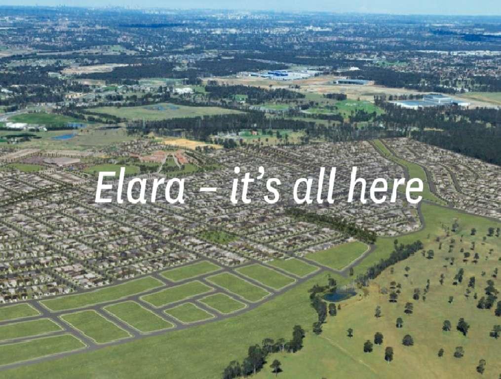 Elara Estate Marsden Park