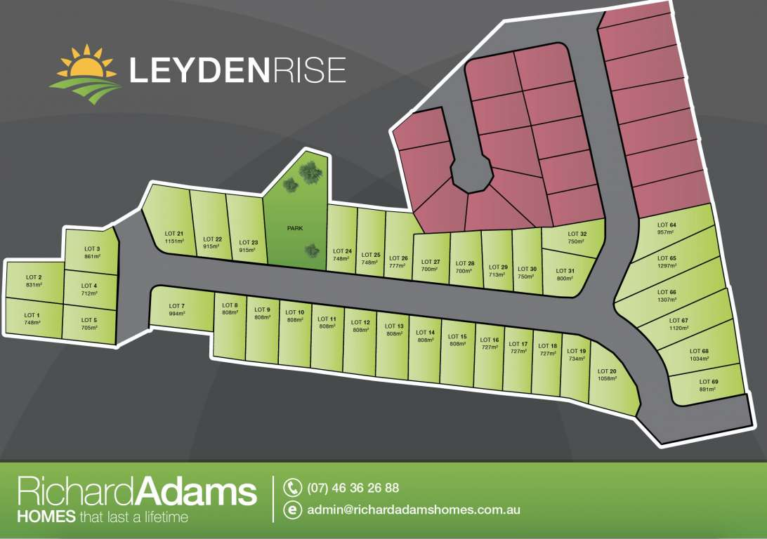 Leyden Rise Estate Oakey