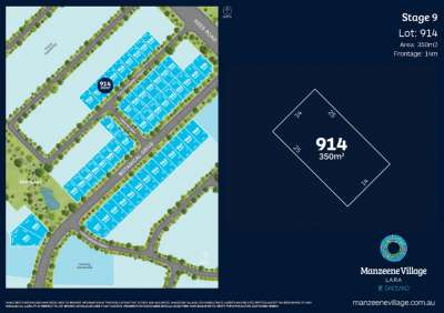 Lot 914 Manzeen Avenue, Lara, VIC