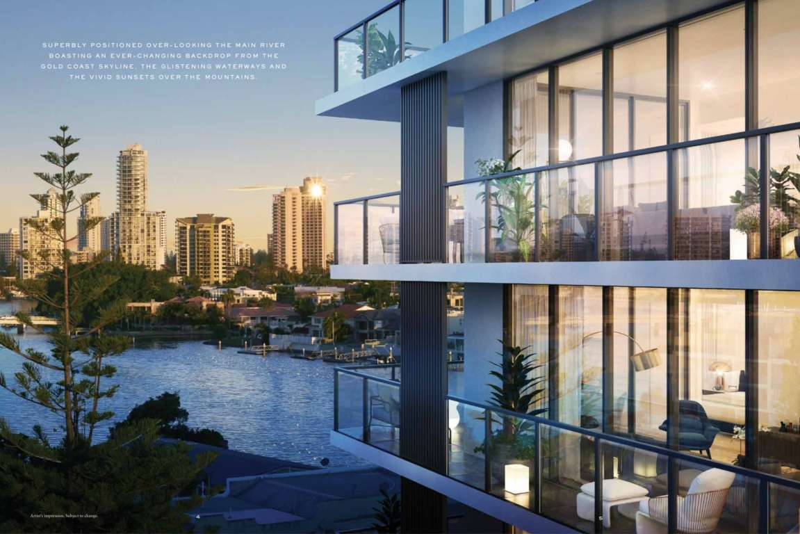 Peninsular Residences Estate Surfers Paradise