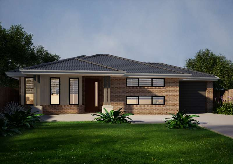 Harrier 416 Design Regency Facade Ridge Homes