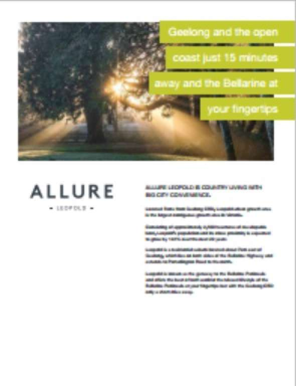 Allure Estate Leopold