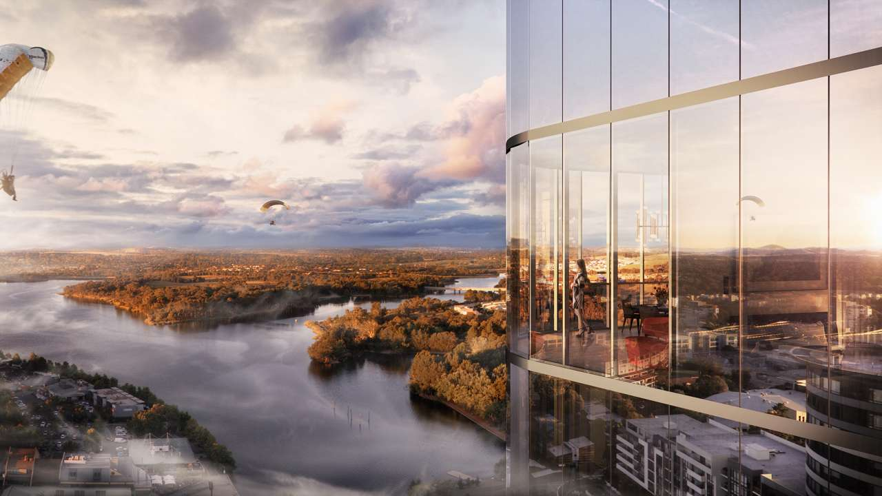High Society - Canberra's most successful property development release