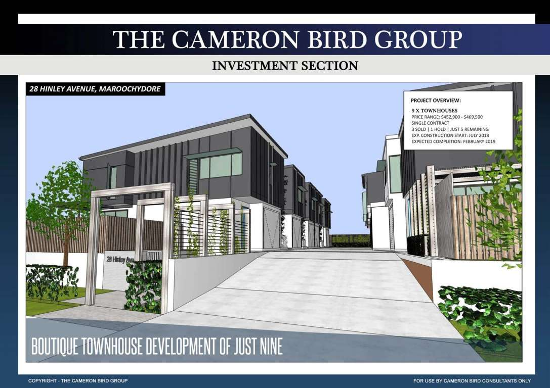 The Cameron Bird Group Estate Maroochydore