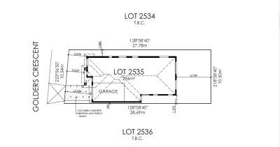 Lot 2535 Golders Crescent, Wyndham Vale, VIC