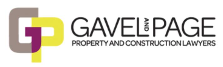 Gavelpage