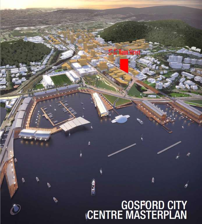 DA Approved Site Gosford