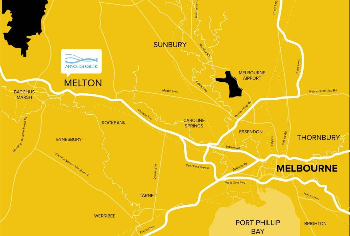 Arnolds Creek Estate Melton West
