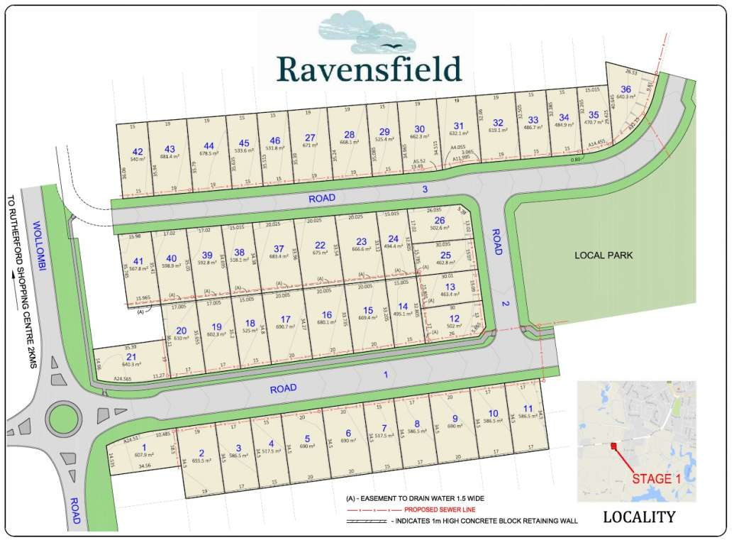 Ravensfield Downs Estate Farley