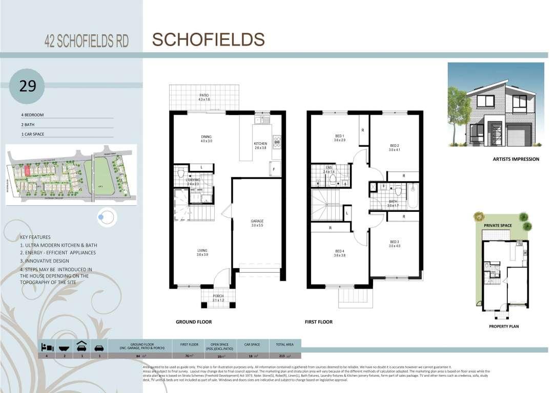 42 Schofields Road Townhouses Schofields