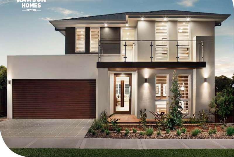 Huntley 31 + Granny Flat Elite Facade Rawson Homes