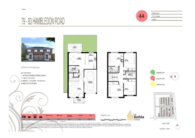 79-83 Hambledon Road Townhouses Schofields