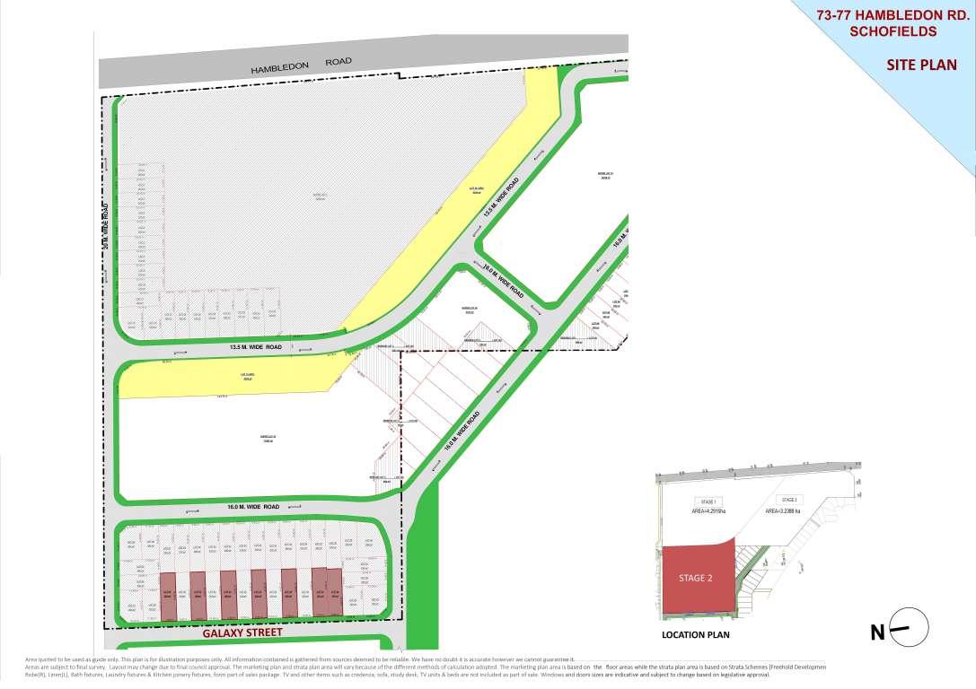 73-77 Hambledon Road Estate Schofields