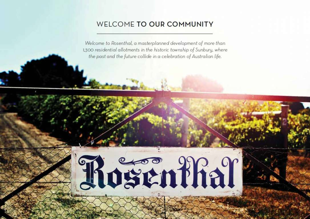 Rosenthal Estate Sunbury