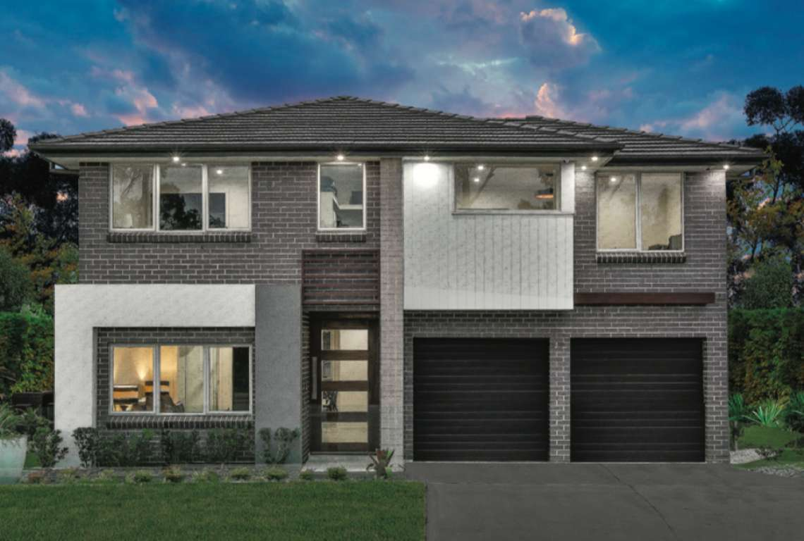 Bellbird Design Merlot Facade Eagle Homes