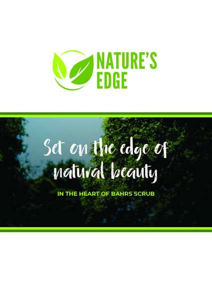 Nature's Edge Estate Bahrs Scrub
