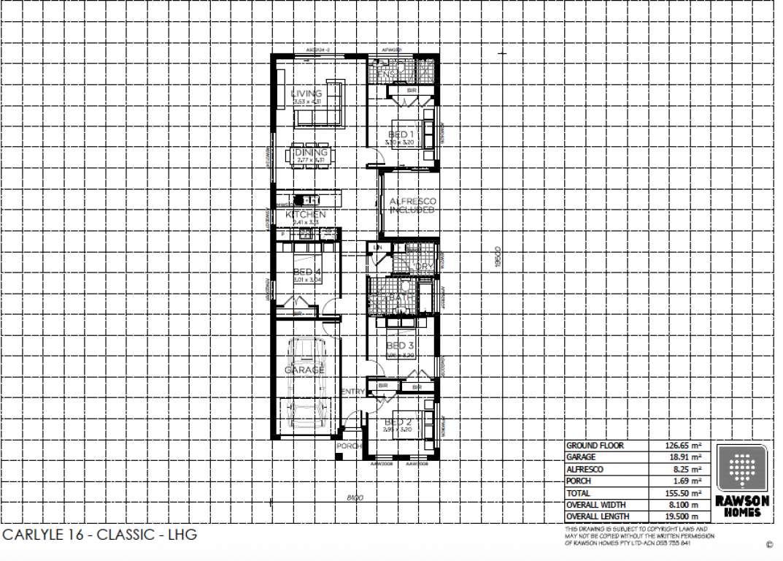 Carlyle 16 Classic Facade Rawson Homes