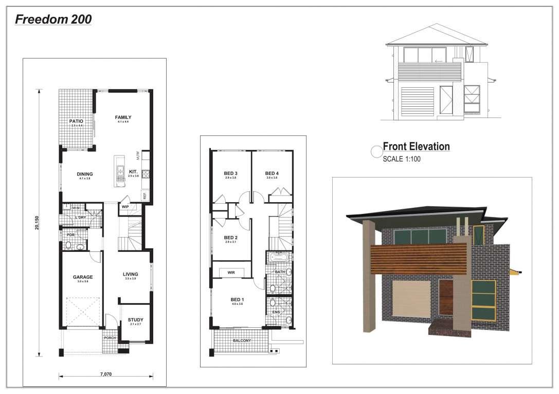 Freedom 200 Design Classic Facade Champion Homes
