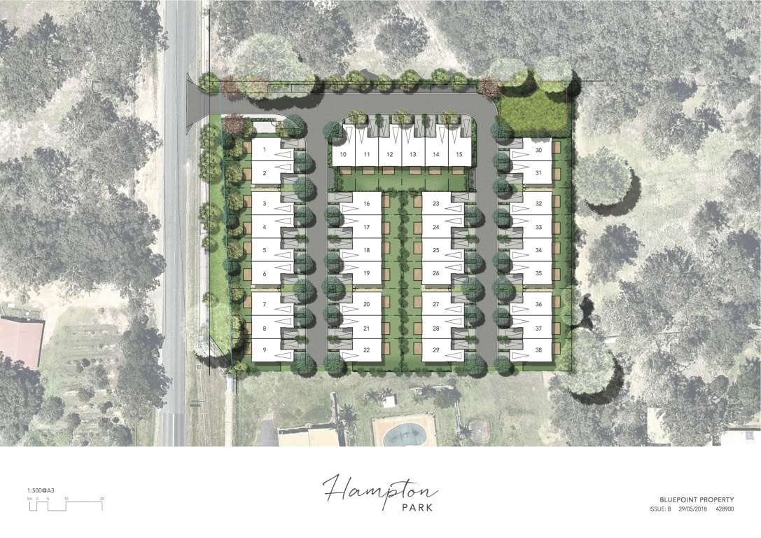 Hampton Park Estate Park Ridge