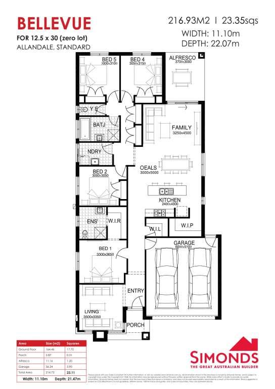 Bellevue Design Berkley Facade Simonds Homes