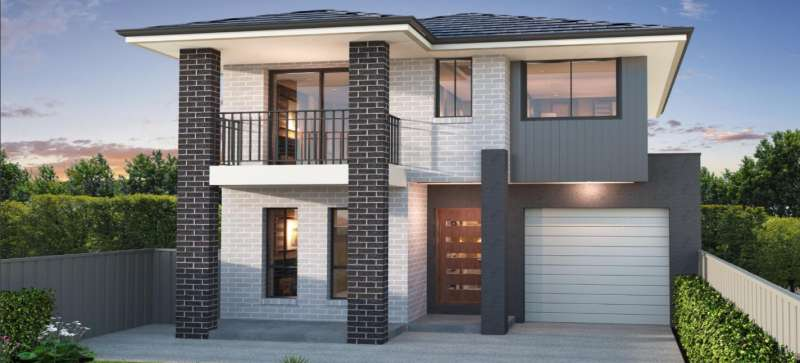 Falcon S.1 Design Traditional Facade Eagle Homes