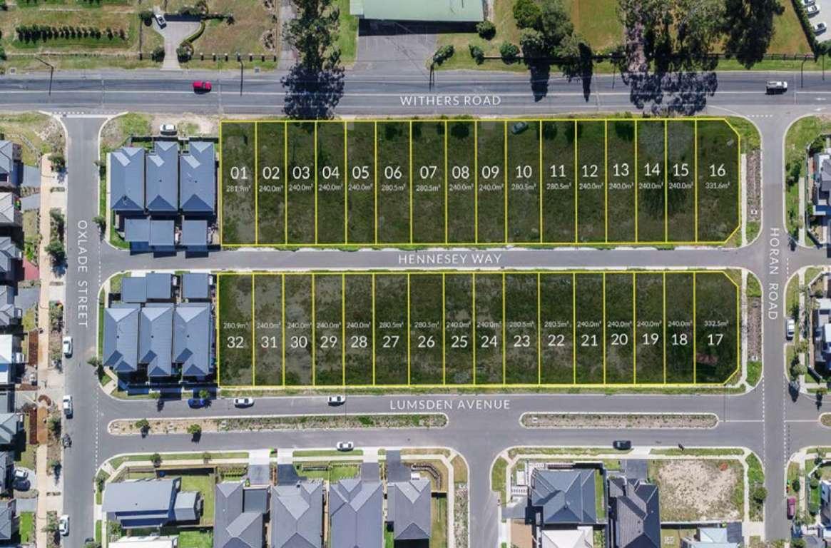 Hennesey Rise Estate Kellyville