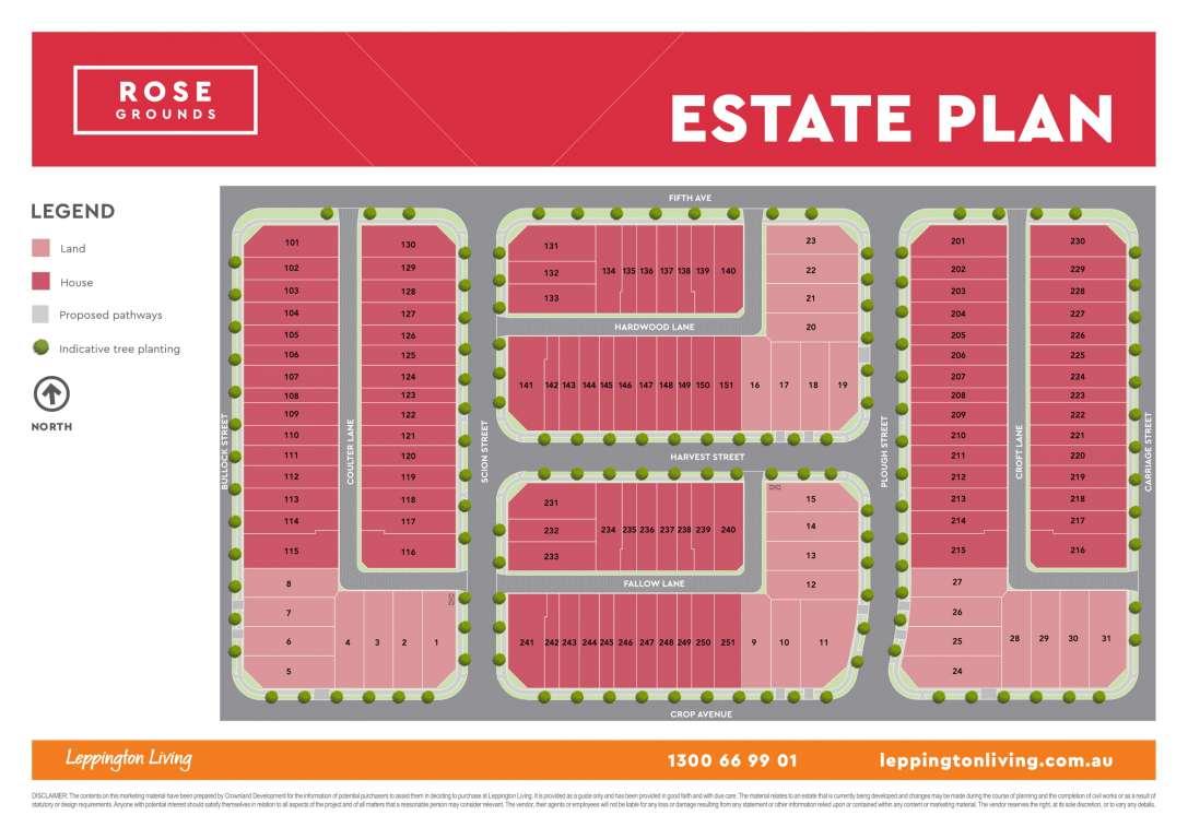 Rose Grounds Estate Austral