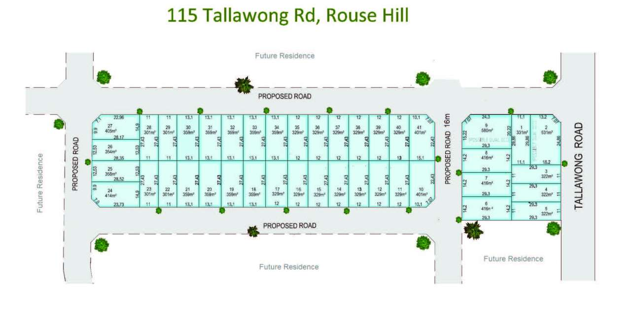 Tallawong Heights Estate Rouse Hill