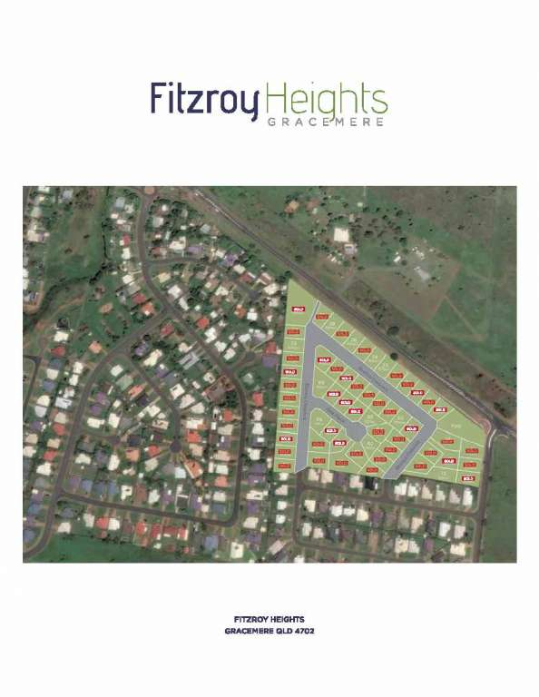 Fitzroy Heights Estate Gracemere