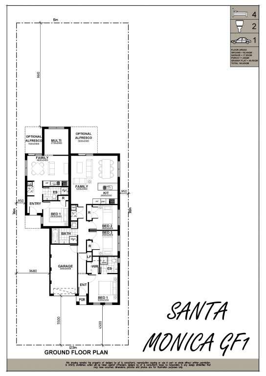 Santa Monica Design Single Facade Brolen Homes