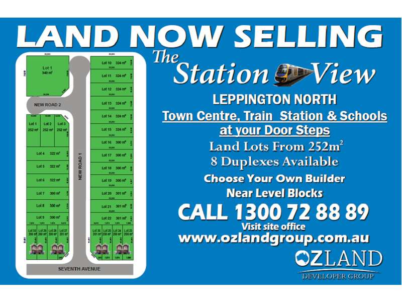 The Station View Estate Leppington