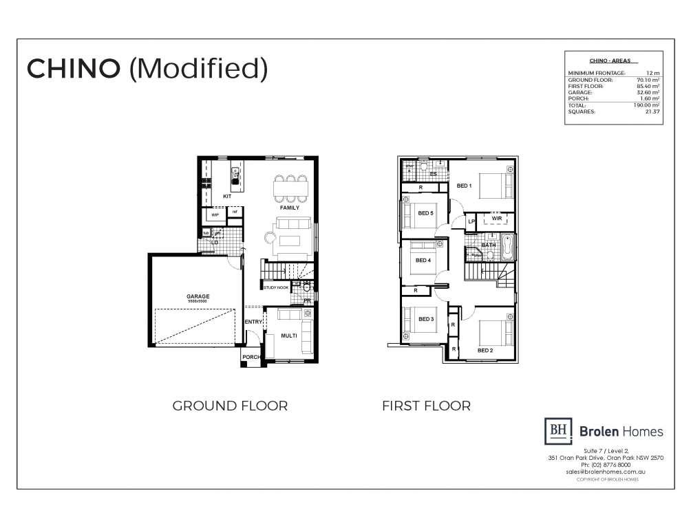 Chino Design Double Facade Brolen Homes