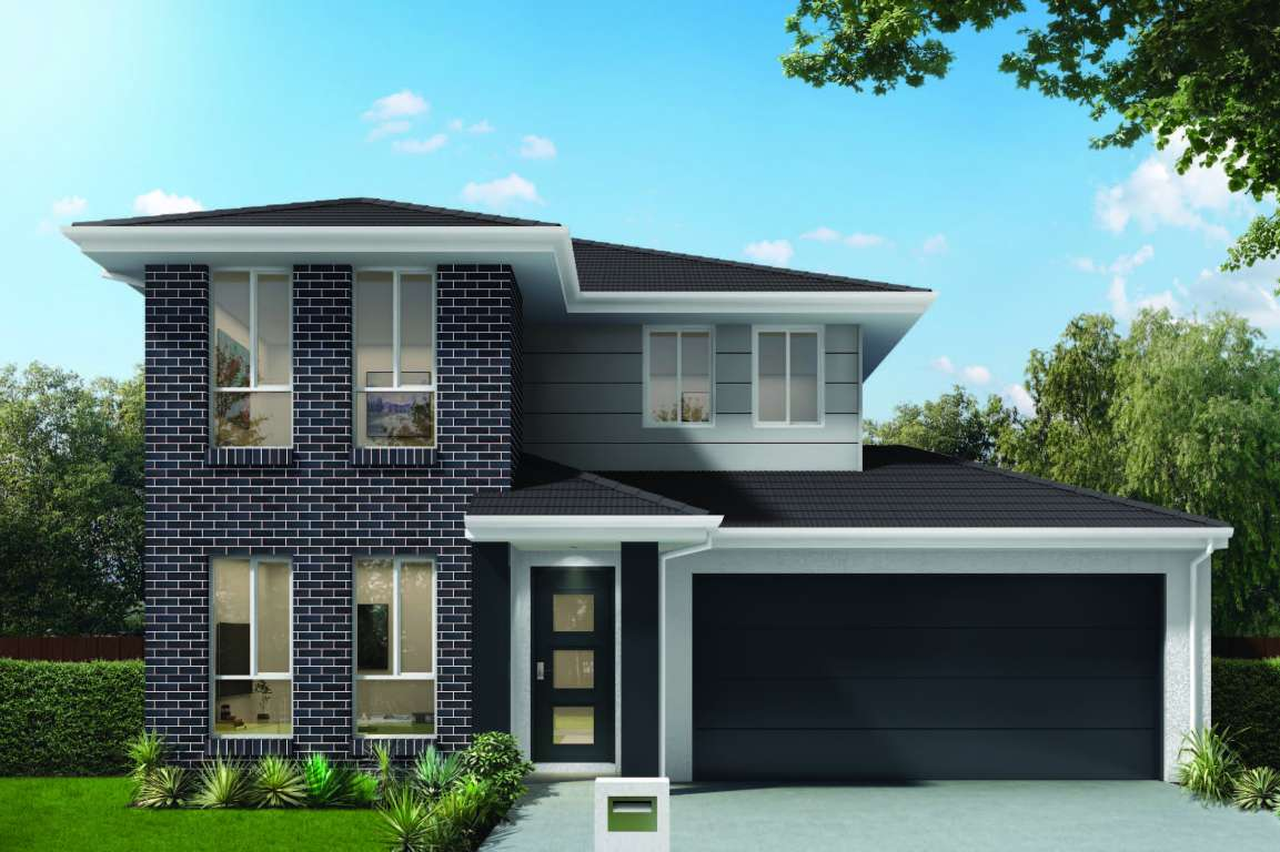 Sapphire 23 Design Double Facade Brass Homes