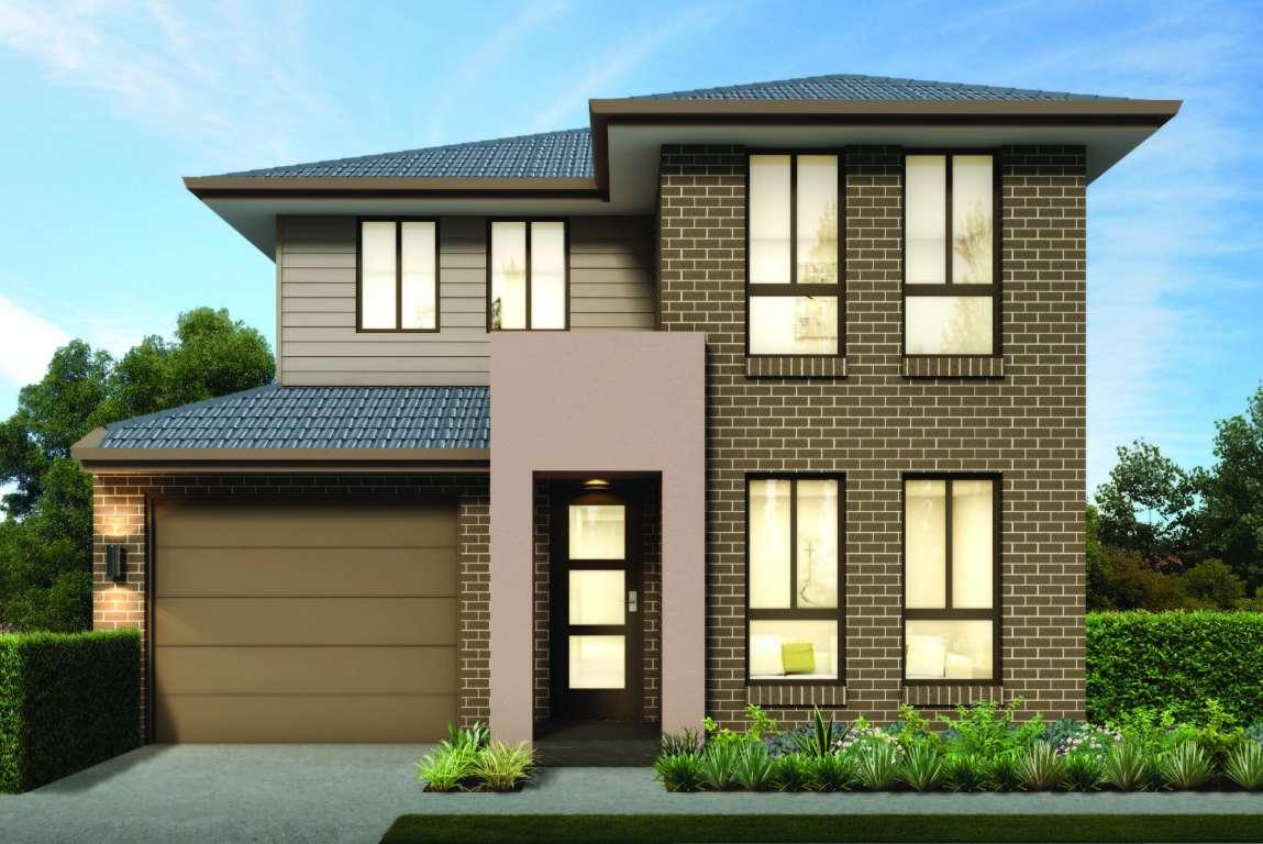 Sapphire 20 Design Double Facade Brass Homes