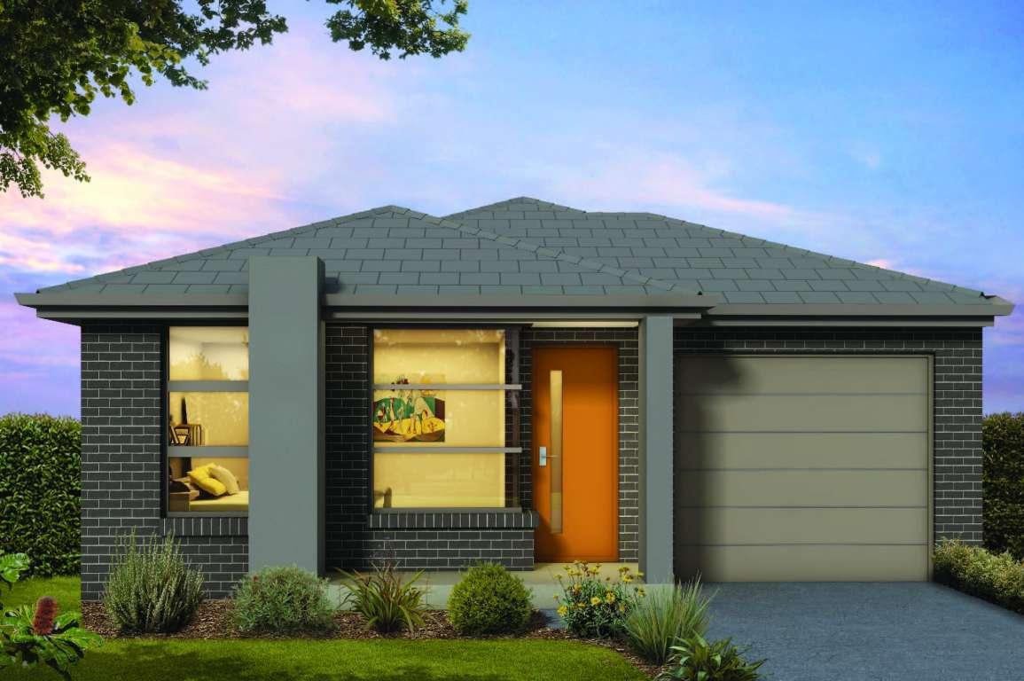 Agate 13 Design Single Facade Brass Homes