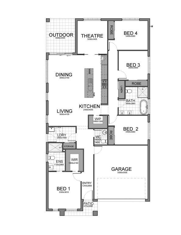 Oakland Design Single Facade Designer Living Homes