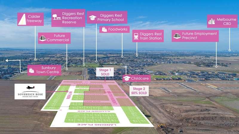 Sovereign Rose Estate Diggers Rest