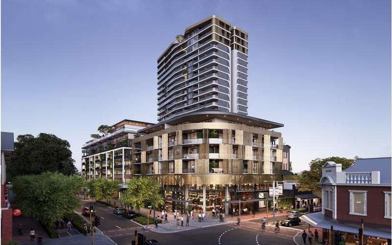 One Subiaco Project East Perth