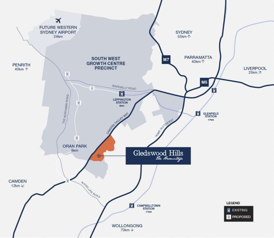 The Hermitage Estate Gledswood Hills