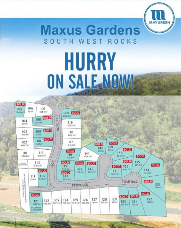 Maxus Gardens Estate South West Rocks