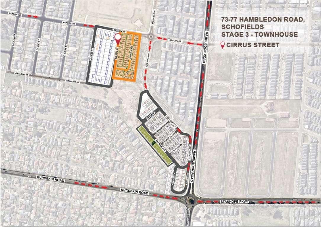 Cirrus Street Project Schofields