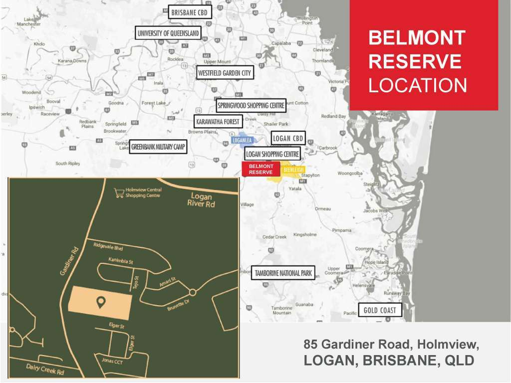 Belmont Reserve Estate Holmview