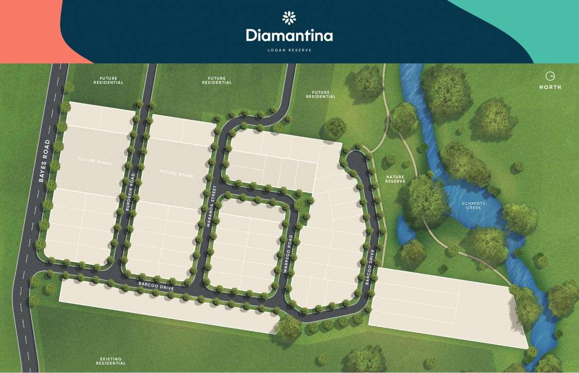 Diamantina Estate Logan Reserve