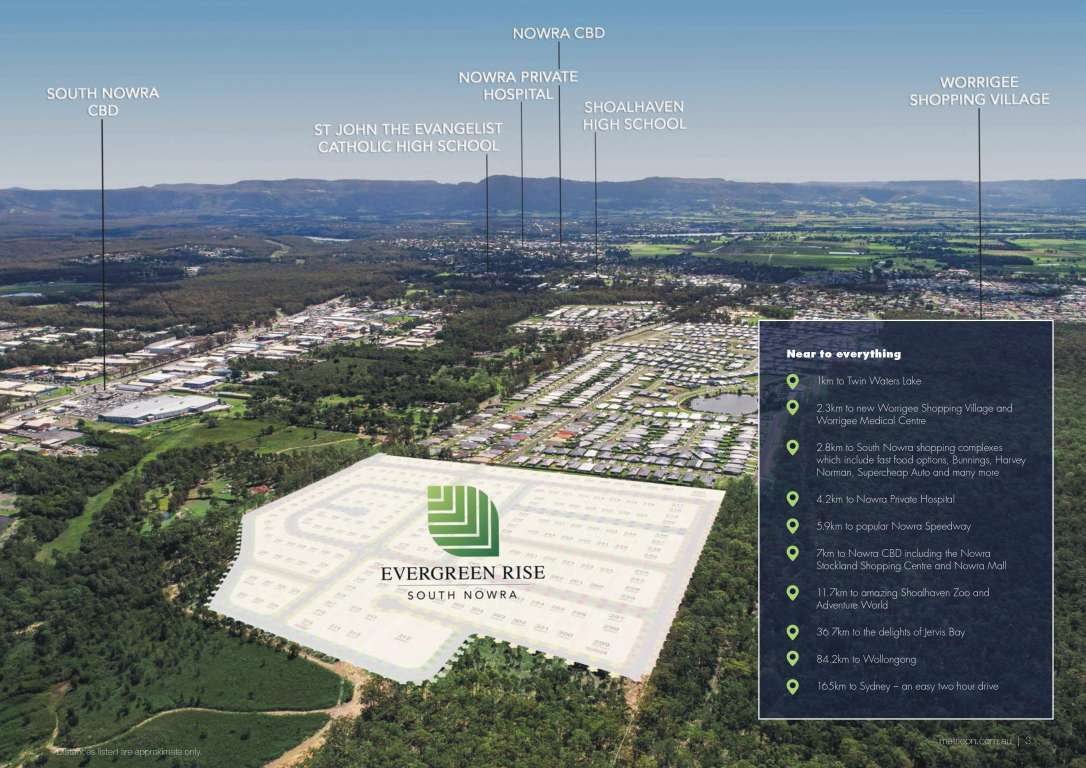 Evergreen Rise Estate South Nowra
